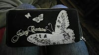 Juicy Couture butterfly wallet