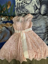 Peach color dress Los Angeles, 90002