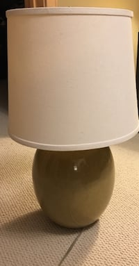 Green base with beige shade table lamp Bloomington, 55431