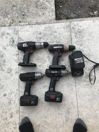 craftman impact drill,two impact gun for sale 'charger is not working