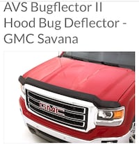 New!! Bugflector  [PHONE NUMBER HIDDEN]  Chevy Express  2003-2018 GMC Savana St Thomas, N5R 6M6