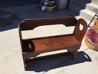 Very cute wooden bench Independence, 64058