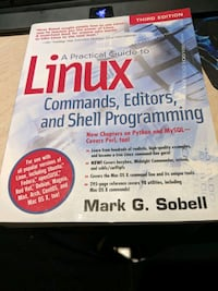 Linux Commands, Editors,and Shell Programming Book Mississauga, L4W 3H7