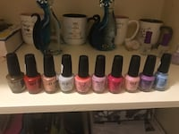 assorted-color nail polish lot Mississauga, L5M 6T2