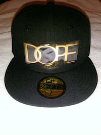 Dope 24 karat gold New Era fitted size 7 Woodbridge, 22192