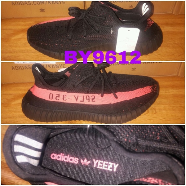 e74d32d03291b Used pair of black Adidas Yeezy Boost 350 V2 for sale in Grand Prairie -  letgo
