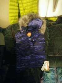 purple and green bubble jacket Grand Rapids, 49548
