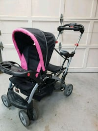 Double stroller. Sit & stand North Bend, 98045