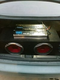 "10"" speakers and 800w amp Bakersfield, 93307"