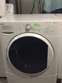 white front-load clothes washer Regina, S4N 0T9