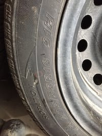 Westlake Winter Tire with rim (x4). Size 205/55R/16. Negotiable. Surrey, V3R 3P2