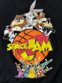 Men's Space Jam T-Shirt Size Large RN #71868 Herndon, 20171