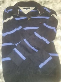 black and blue striped sweater obo Ottawa, K4A 3V1