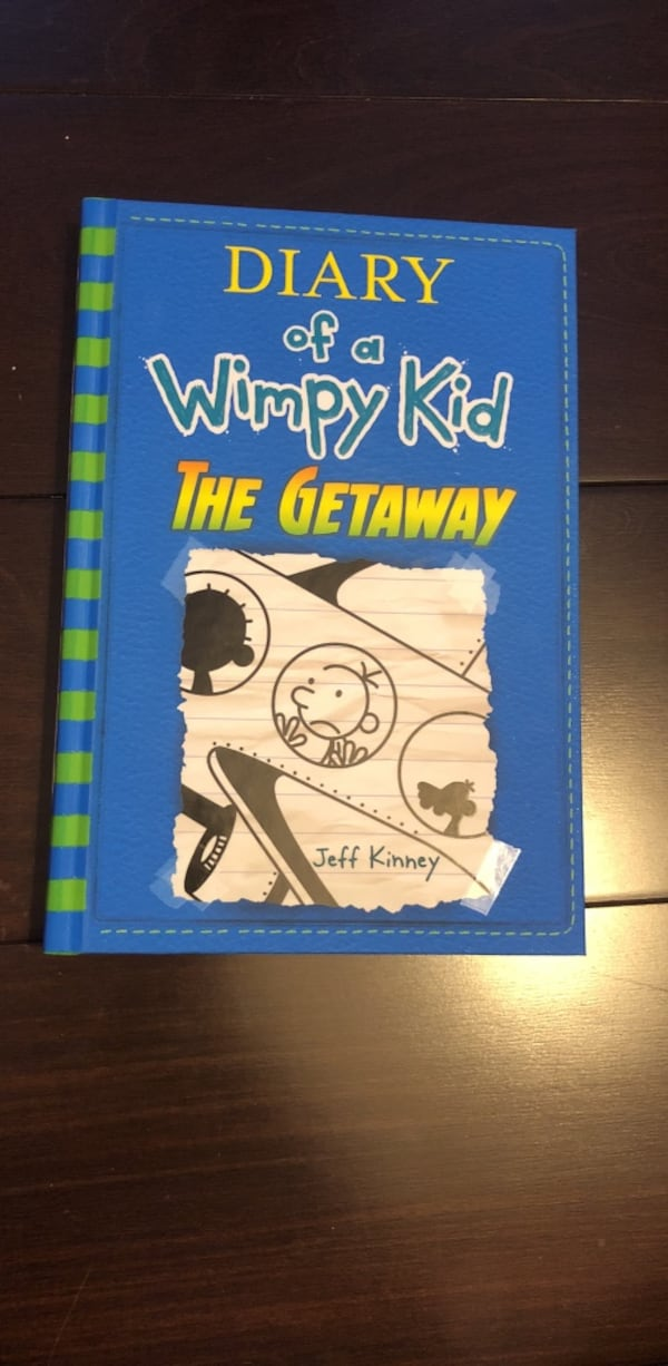 Brand new diary of a wimpy kid book 12 24bcdcc0-e740-493e-90ab-65f25eedcea2