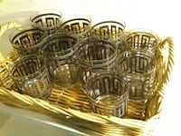 Set of 10 Glasses West Springfield