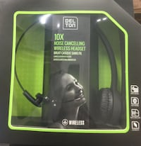 Del Ton 10x noise cancellation wireless headset, specially for trucking  Toronto, M1R 2R1