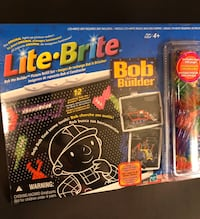 Lite-Brite, Refill Set. Bob the Builder.