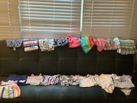 Gently used baby girl items null
