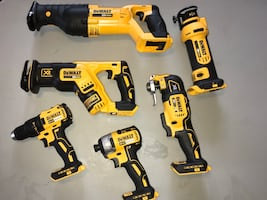 Dewalt 20V brushless XR 6 tool lot (4 now.. maybe 5 if price right)