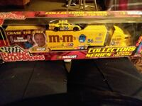 Nascar collector die cast semi and car  Anderson, 46012