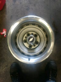 Chevy rallye wheels full set with caps and rings Lakewood, 98499