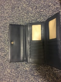 Black and gray leather wallet Winnipeg, R2L