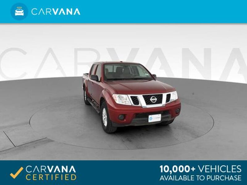 2015 Nissan Frontier Crew Cab pickup SV Pickup 4D 5 ft Red <br 10026375-1eb0-47c8-b137-ece9744869b3