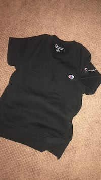 Black champion crew neck shirt Kitchener, N2R 0L8