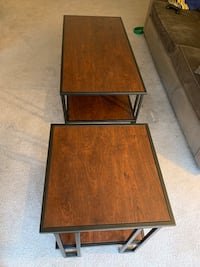 Coffee Table w/ 2 End Tables
