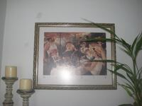 Antique style pictures and frames
