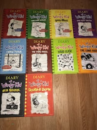 Diary of a wimpy kid books ONLY BOOKS  [TL_HIDDEN] 1 Newark, 07108
