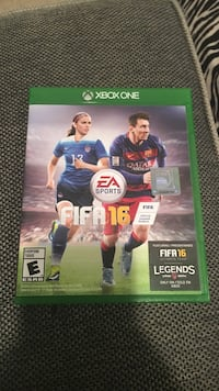 FIFA 16 Xbox One game Aldie, 20105