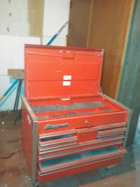 red and gray tool cabinet East Chicago, 46312