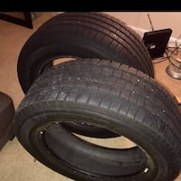 OBO two 20inch Michelin truck tires 275/55/r20 good condition Forest Heights, 20745