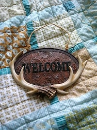 """""""Welcome"""" Western style antler sign Harrisonville, 64701"""