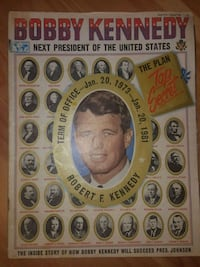 Bobby Kennedy collector Magazine  Toronto, M6P 1Y9