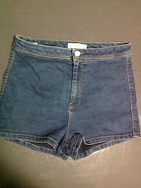 short court en jean bleu Antibes, 06600