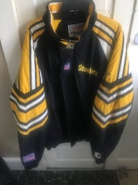 Starter jacket large men's  steelers