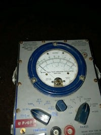 Vintage And Rare U.s. Property Multimeter Me-70b/psm-6a , Bruno Ny