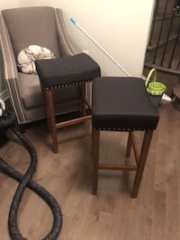 black wooden table with chair Vaughan, L0J 1C0