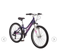 purple and black hardtail bike Markham, 60428