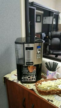 gray and black Cuisinart coffeemaker