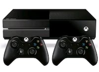 Xbox One nero con due controller 6727 km