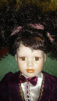 Porcelain Doll and The chair to sit her on Anderson, 29625