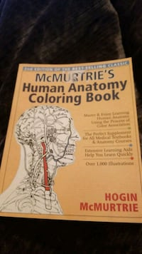 McMurtrie's Human Anatomy Coloring Book
