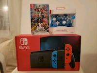 Brand new Nintendo switch with smash and controller Virginia Beach, 23464