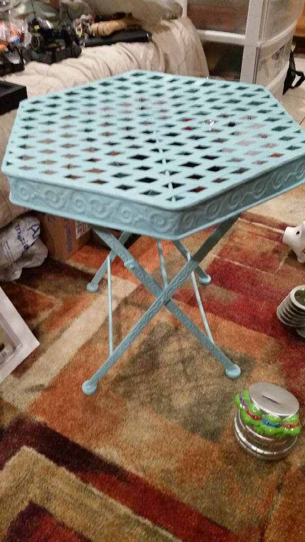 metal fold up table