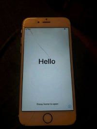 gold iPhone 6 Whitwell, S80 4PT