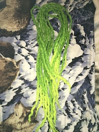 8 pieces- handmade double ended green dreads High Point, 27260