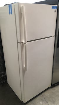 white top-mount refrigerator Concord, 94520